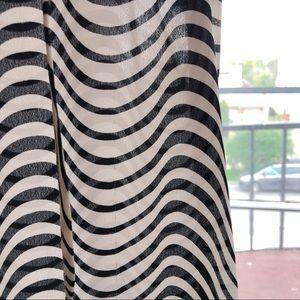 14th & Union Tops - 14th & London Black & White Sleeveless Blouse